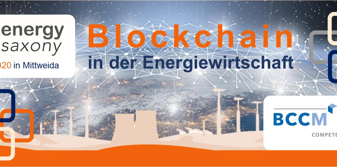 Banner Blockchain in der Energiewirtschaft