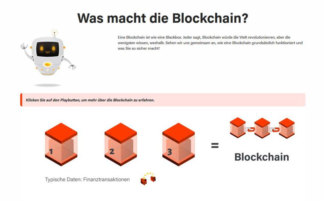 Lernreise auf der Blockchain