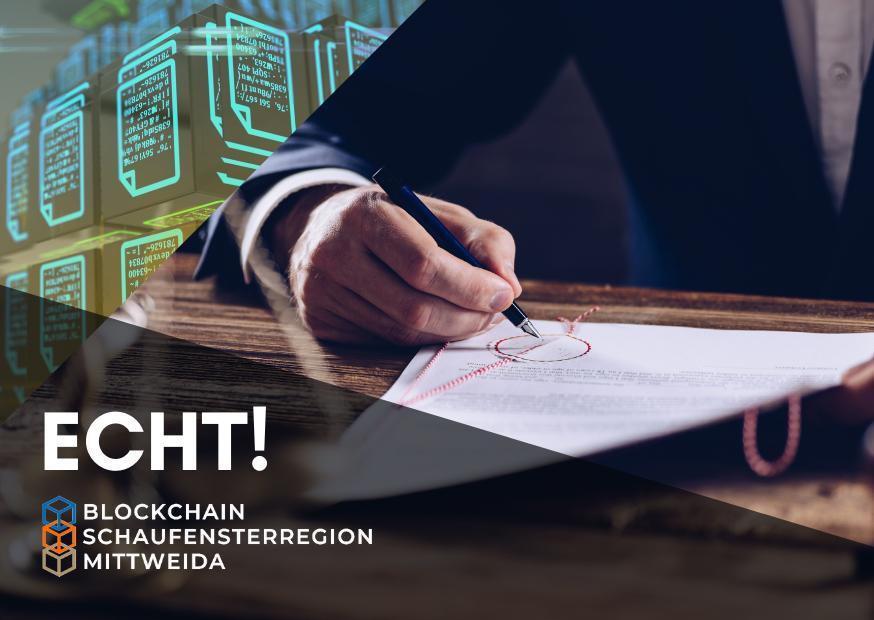 ECHT! Klasse: Blockchain-basiertes Urkundenmanagement